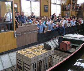 T.B.&S. ondersteunt Museum de BroekerVeiling.