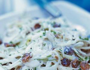 Witte-koolsalade